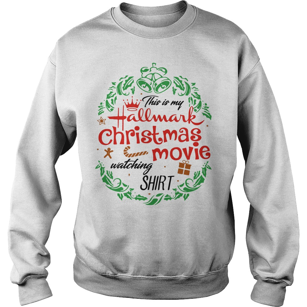This is my hallmark christmas movie watching mug Sweater