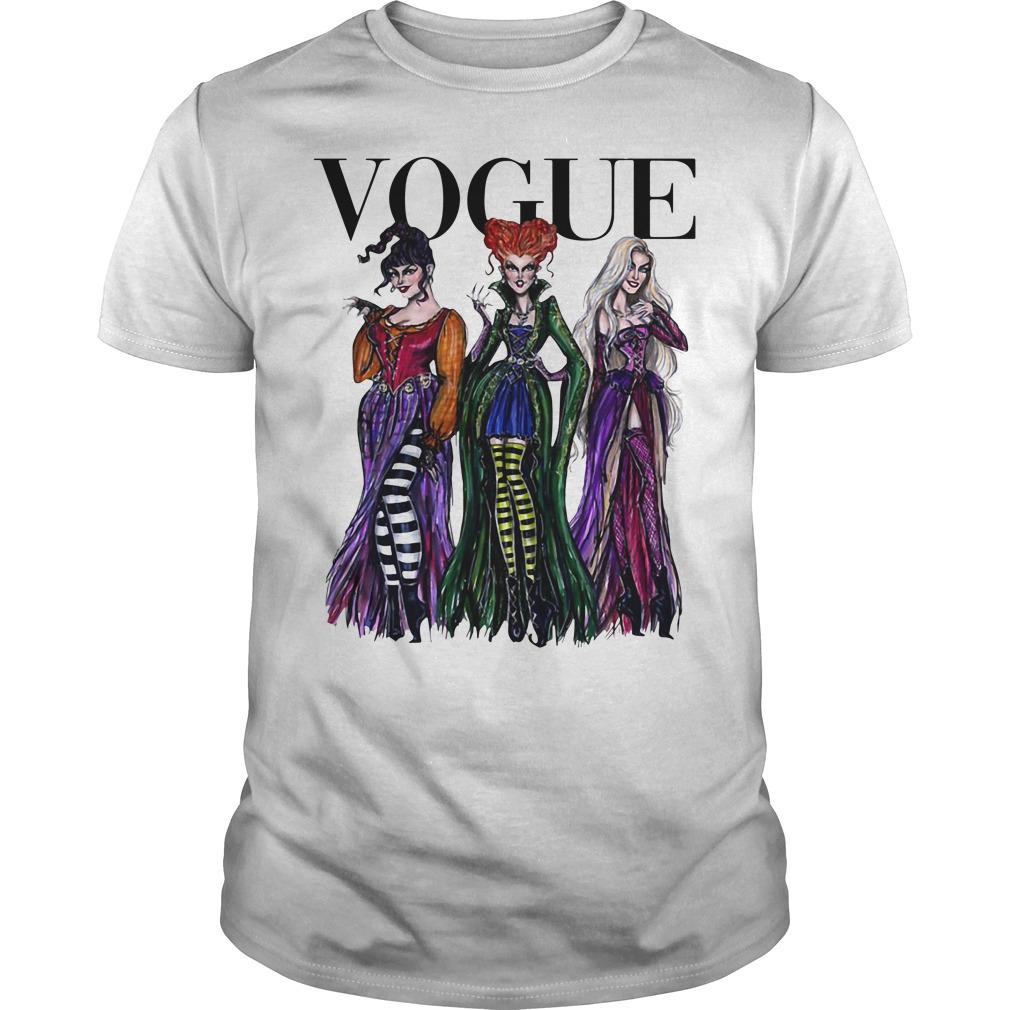 Halloween Hocus Pocus Vogue Guys shirt