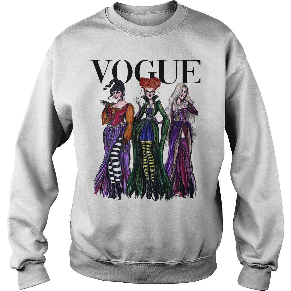 Halloween Hocus Pocus Vogue Sweater