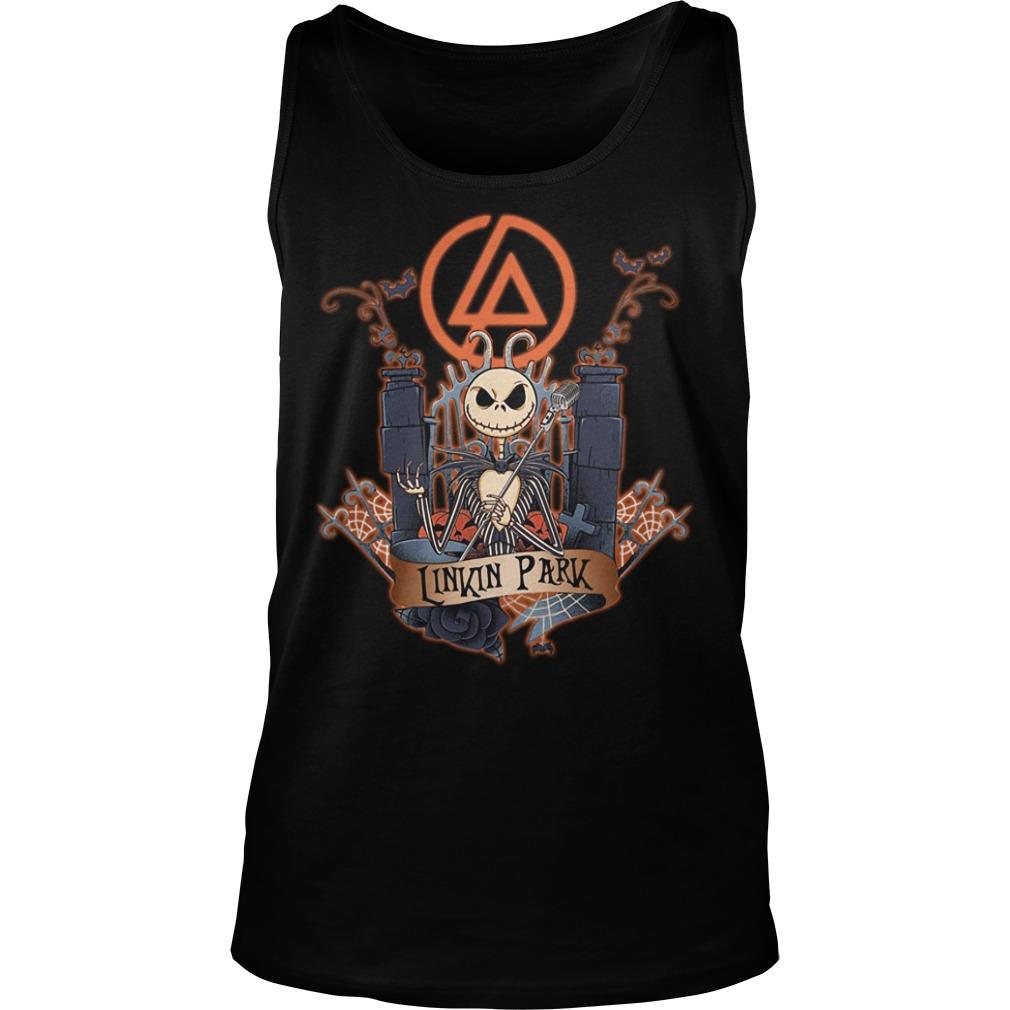 Halloween Jack Skellington Linkin Park Tank top