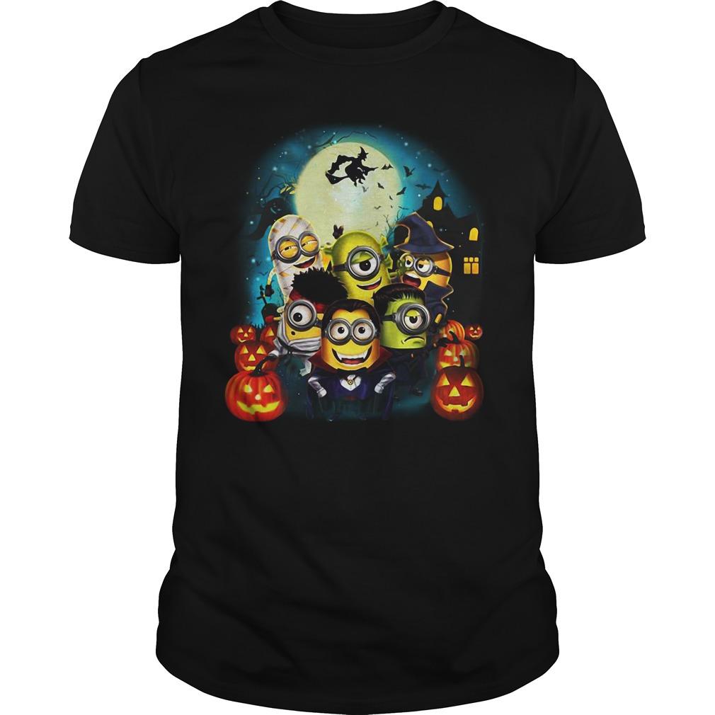 Halloween Minions Pumpkin Guys shirt