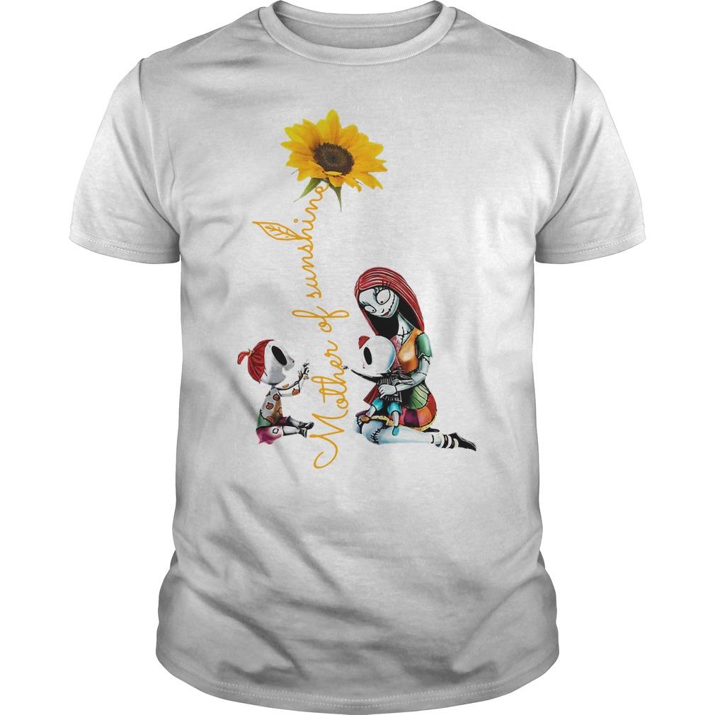 Halloween mother of sunshine Guys shirt