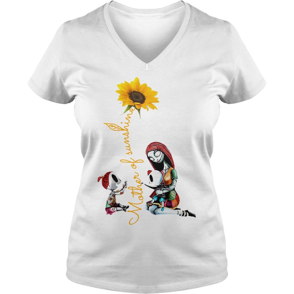 Halloween mother of sunshine V-neck T-shirt
