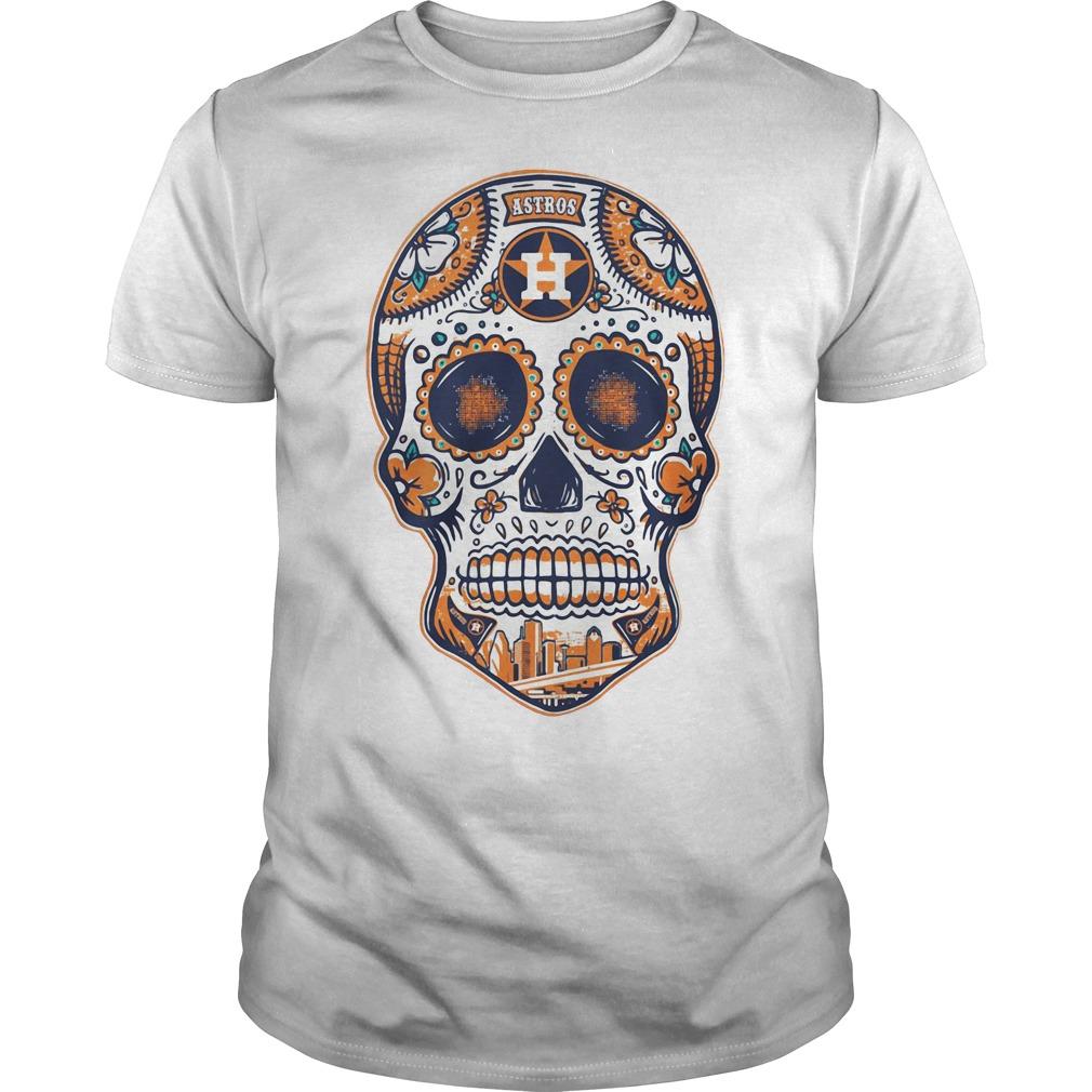 Houston Astros skull Guys shirt