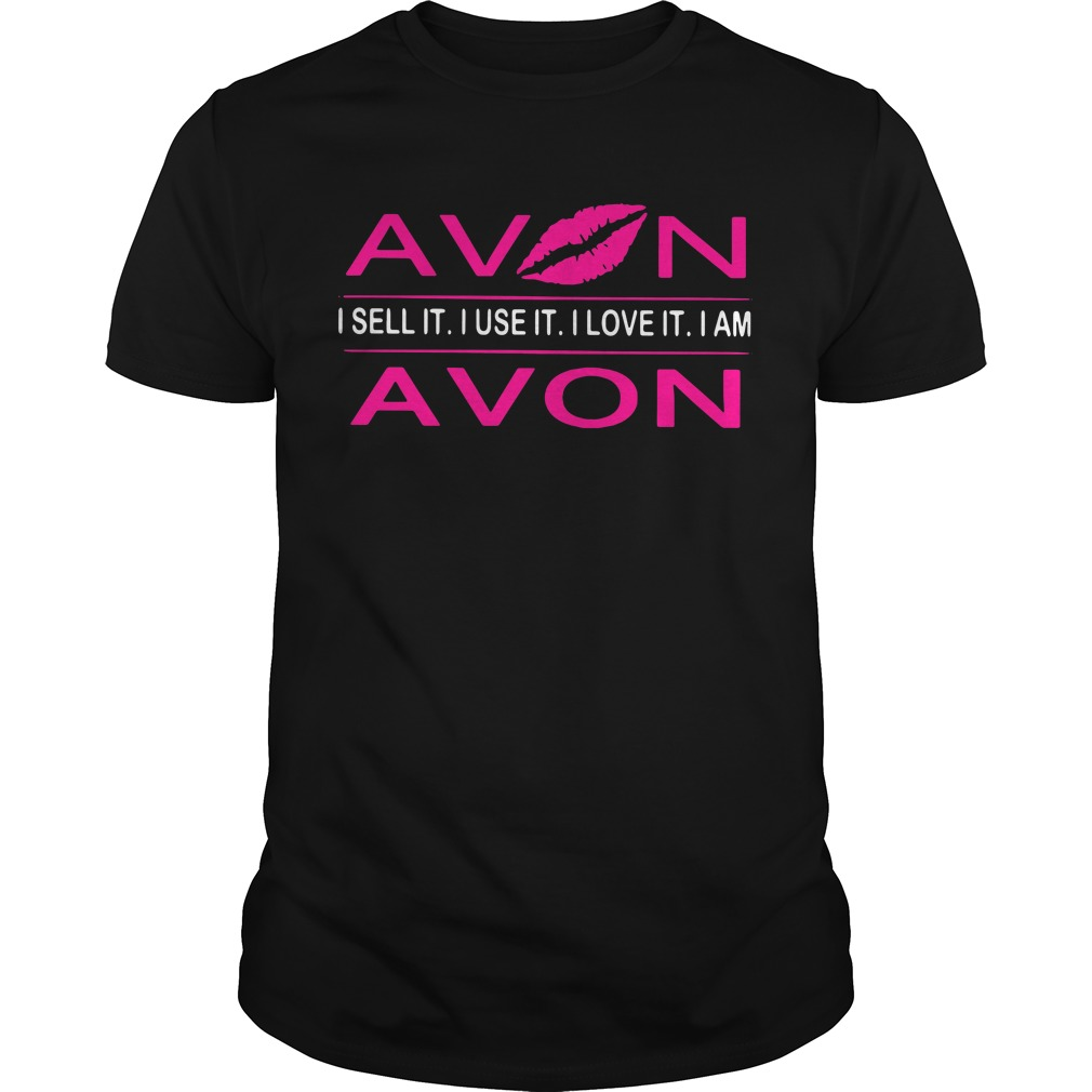 Lip avon I sell it I use it I love it I am Guys shirt