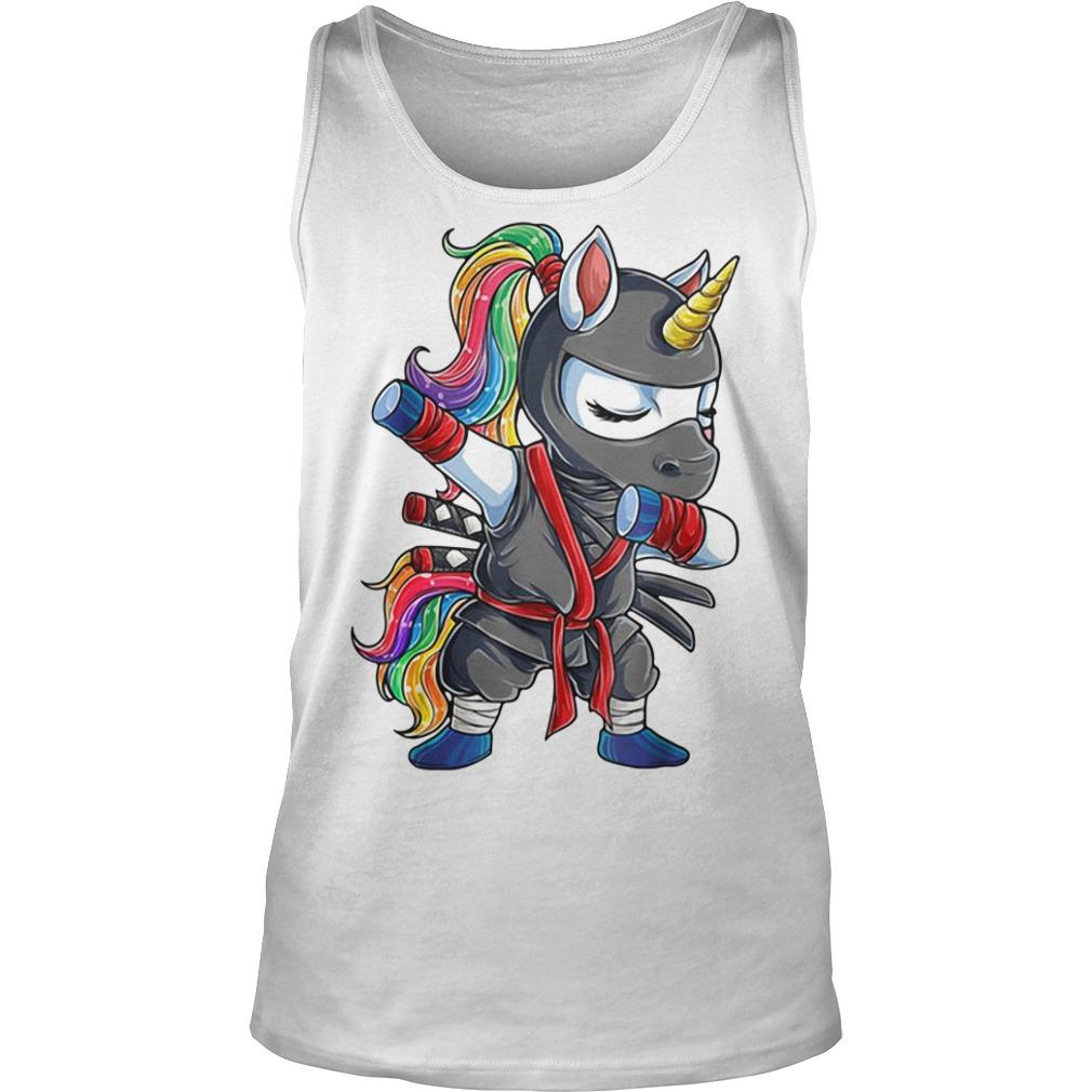 Ninja Unicorn Dabbing Tank top