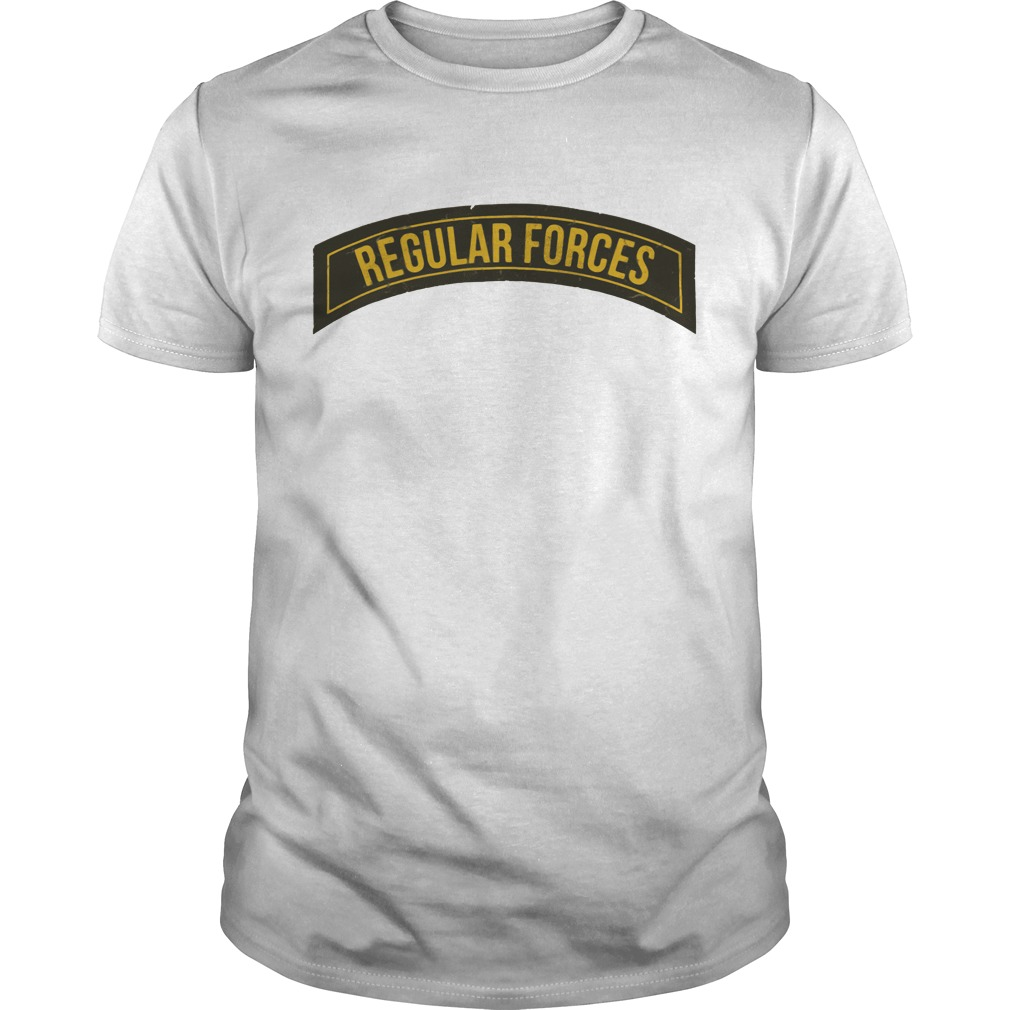 Official Regular Forces Guys shirt