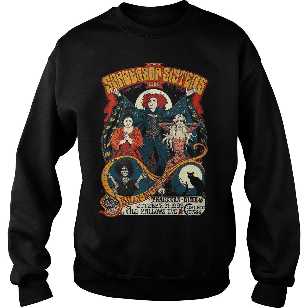 Sanderson Sisters Vintage Tour Poster Sweater