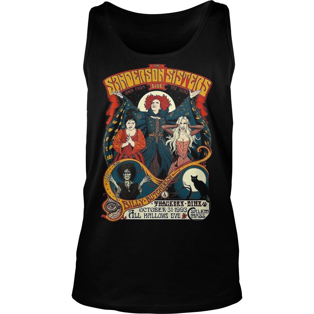 Sanderson Sisters Vintage Tour Poster Tank top