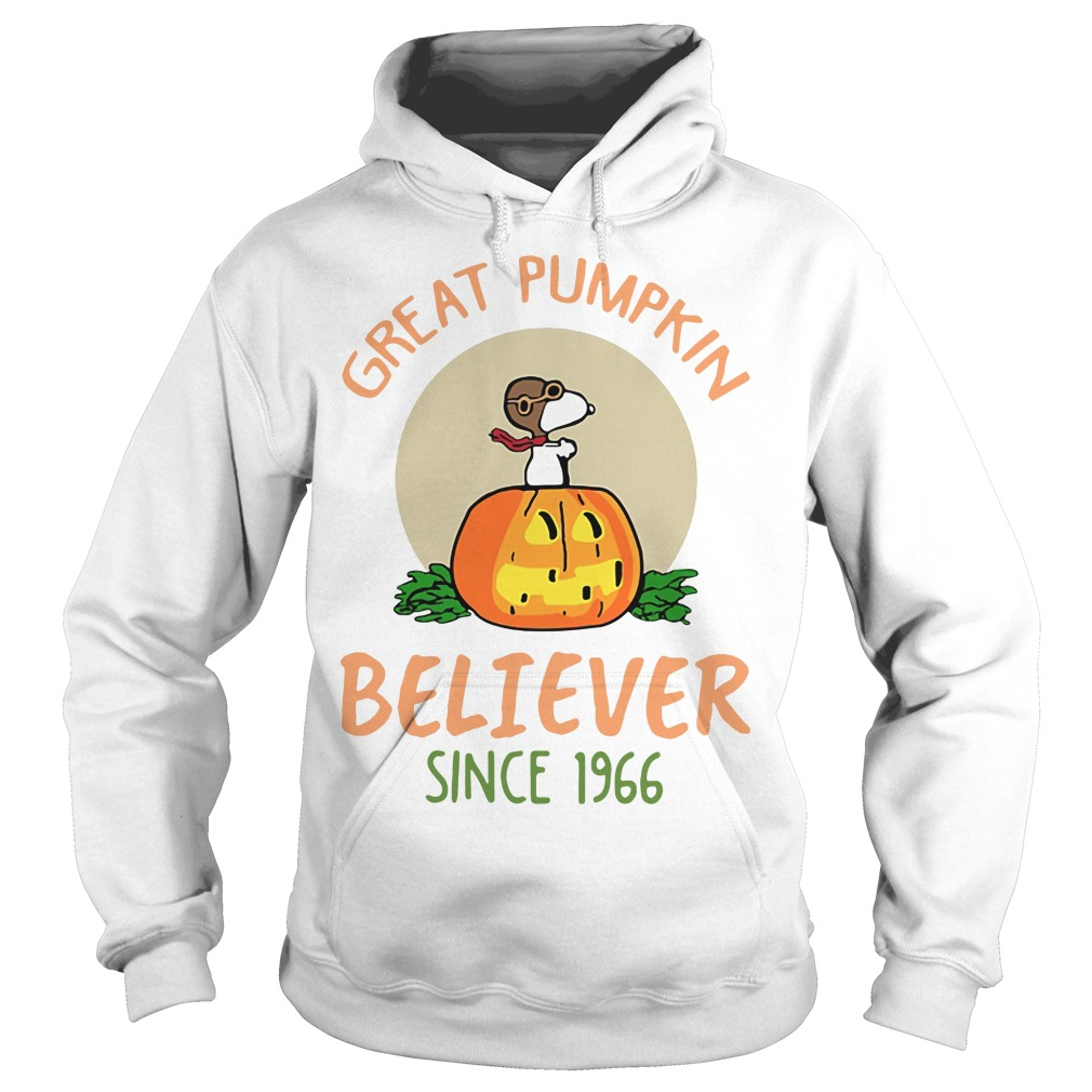 Snoopy – Great Pumpkin Believer Since 1966 Hoodie