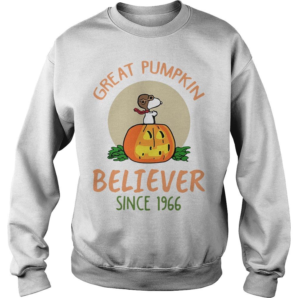 Snoopy – Great Pumpkin Believer Since 1966 Sweater