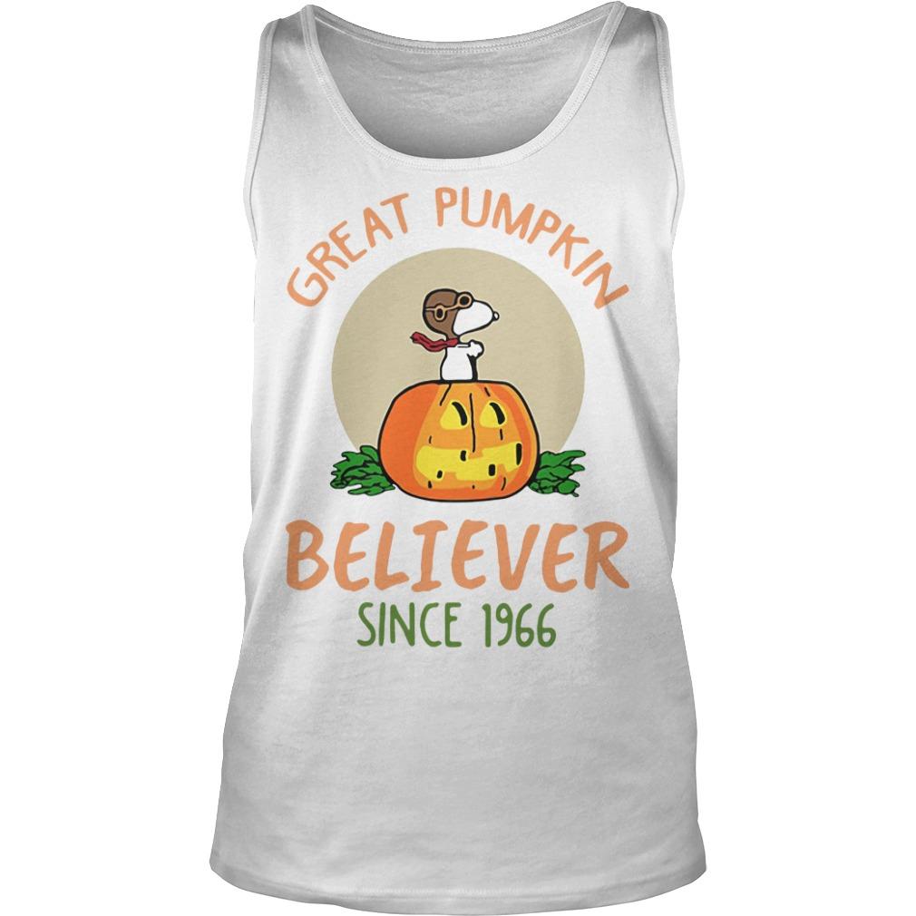 Snoopy – Great Pumpkin Believer Since 1966 Tank top