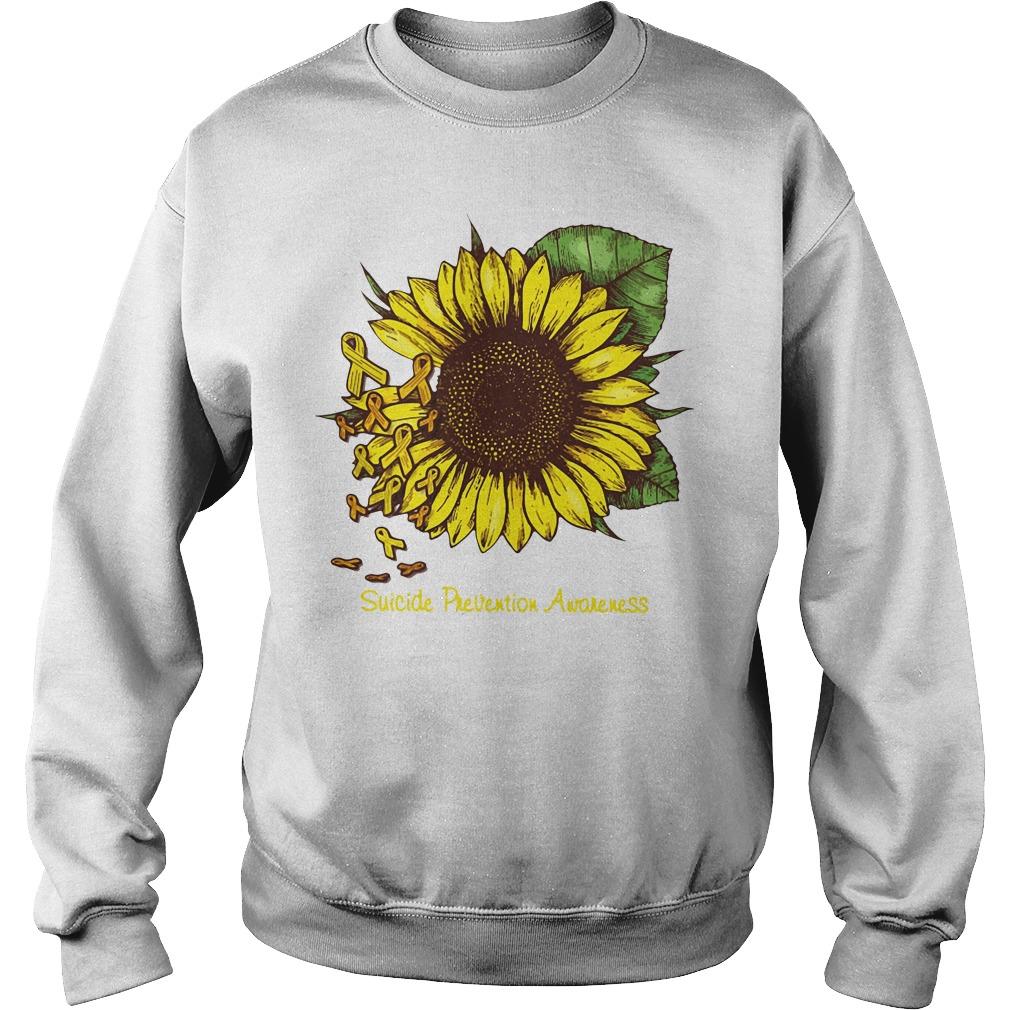 Sunflower suicide prevention awareness Sweater