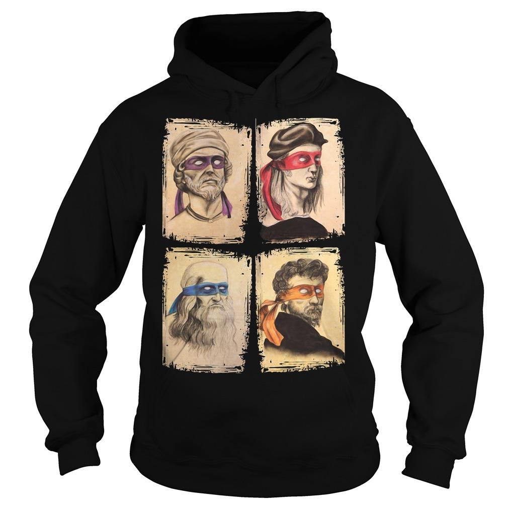 Teenage Mutant Ninja Turtles And Renaissance Italian Artists Hoodie