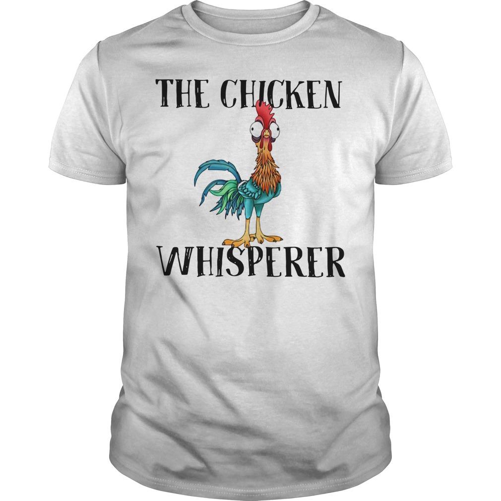 The Chicken Whisperer Funny Farmer Guys shirt