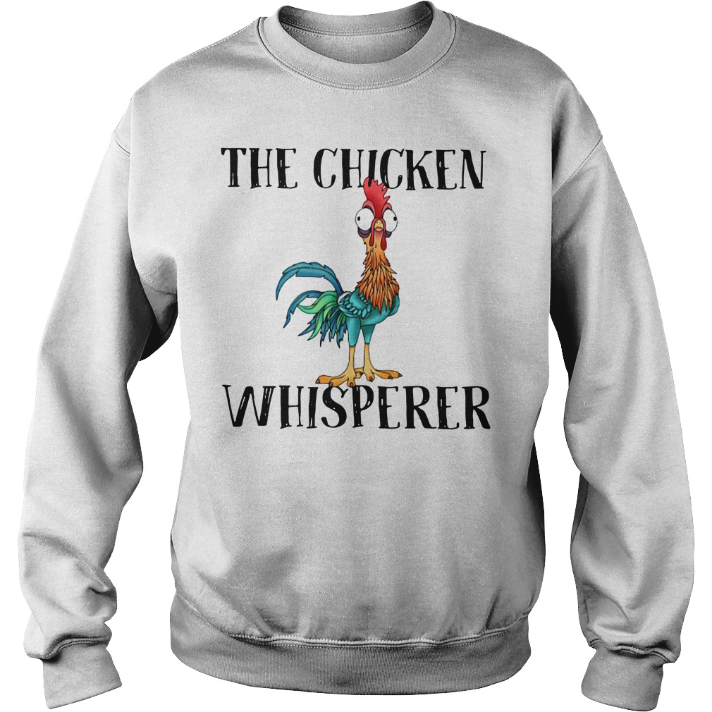 The Chicken Whisperer Funny Farmer Sweater