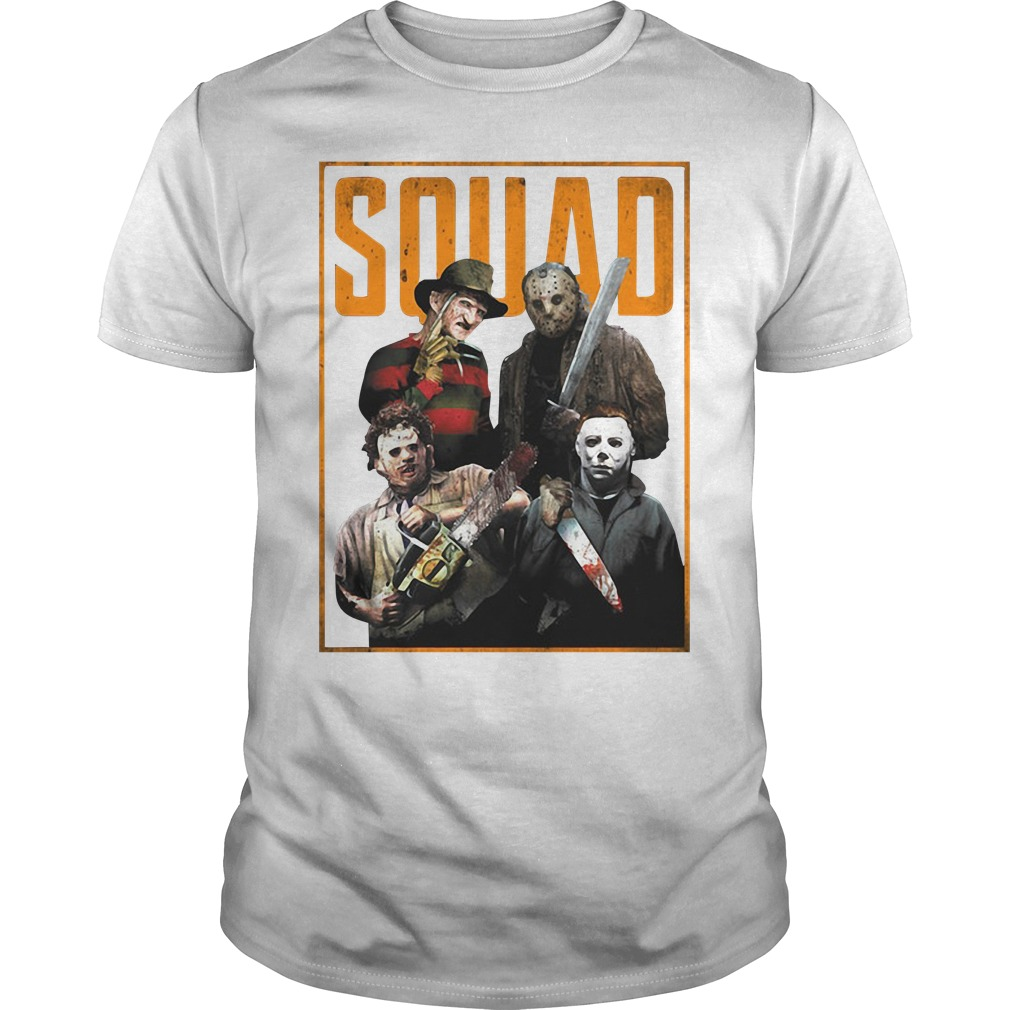 The Halloween horror movie squad Guys shirt