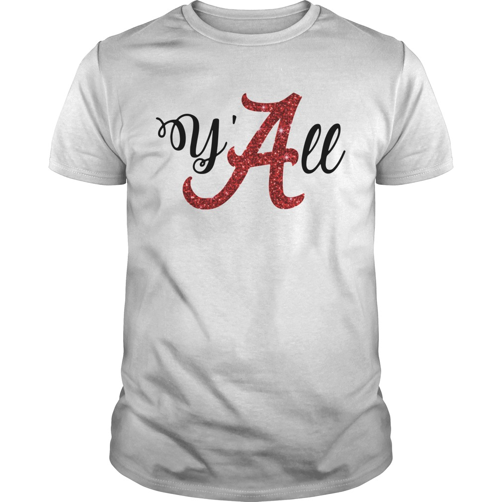Y'all Alabama Crimson Guys shirt