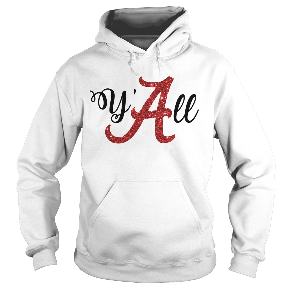 Y'all Alabama Crimson Hoodie