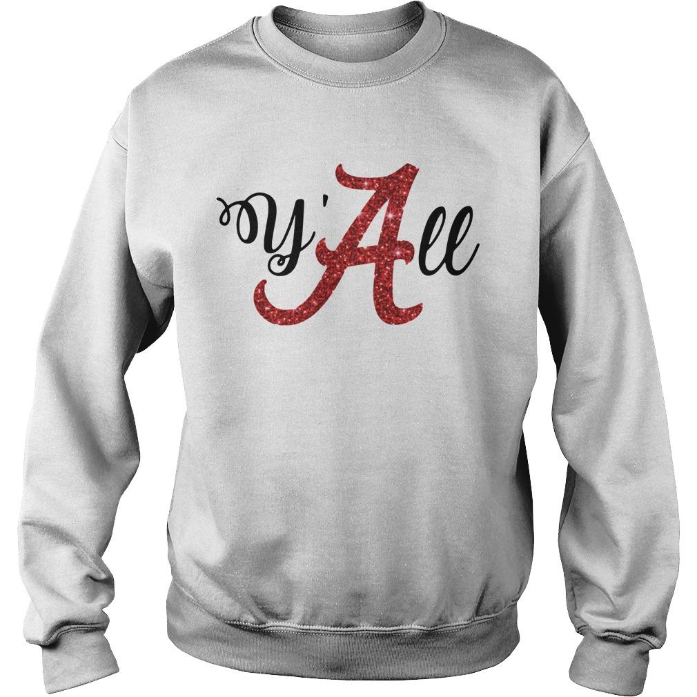 Y'all Alabama Crimson Sweater