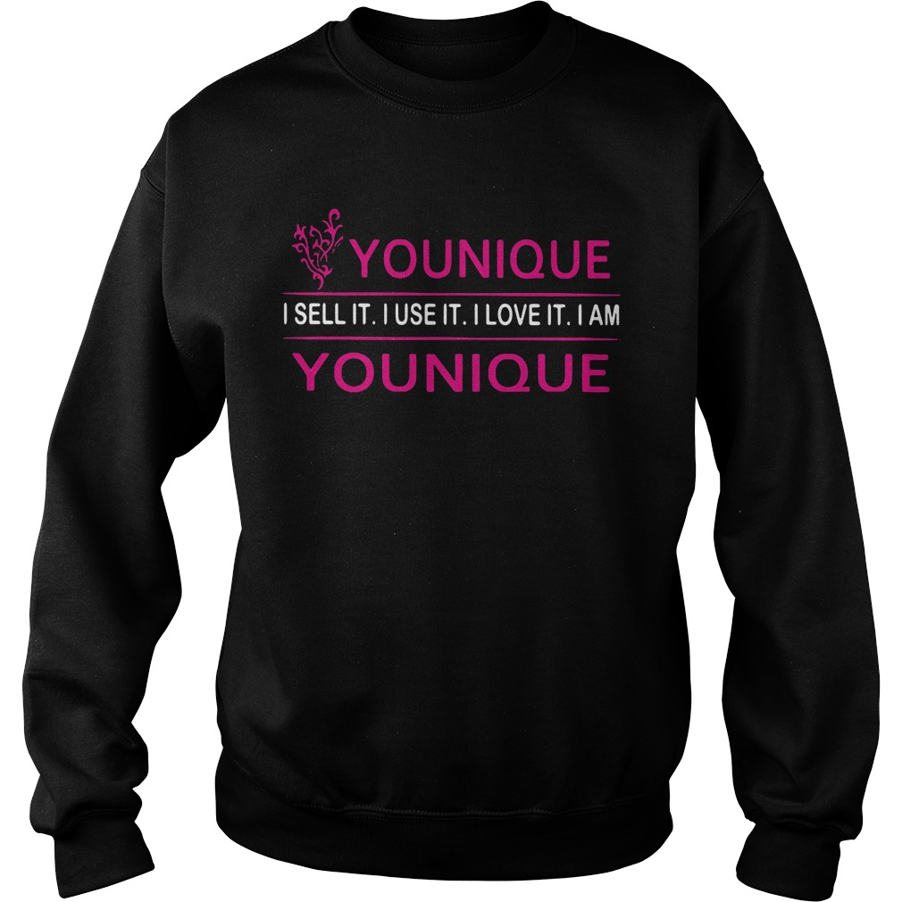 Younique I sell it I use it I love it I am Younique Sweater
