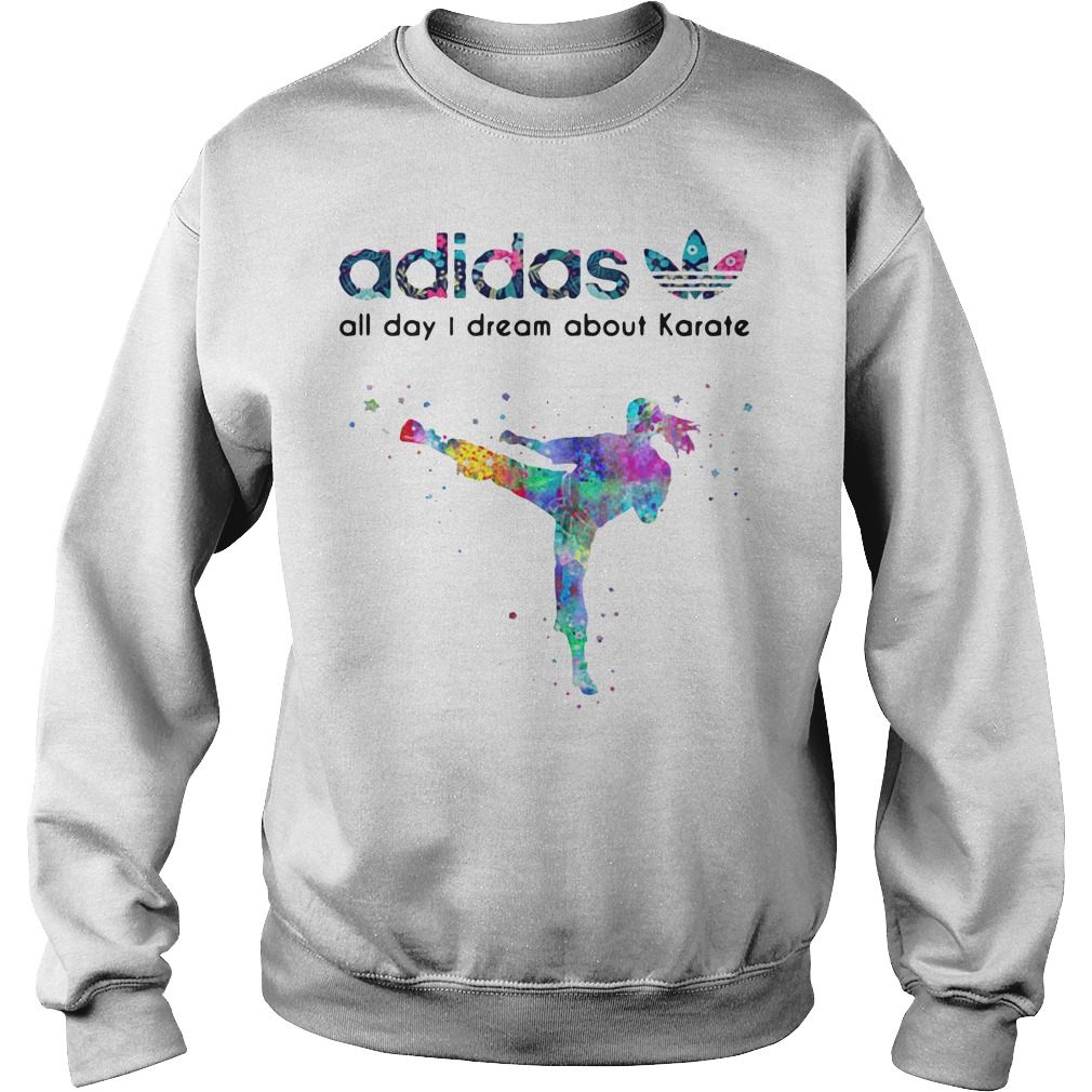 Adidas all day I dream about Karate Sweater