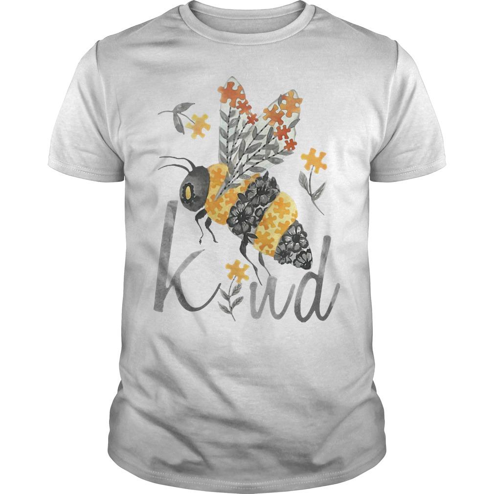 Bee Kind - Floral Bee Guys shirt