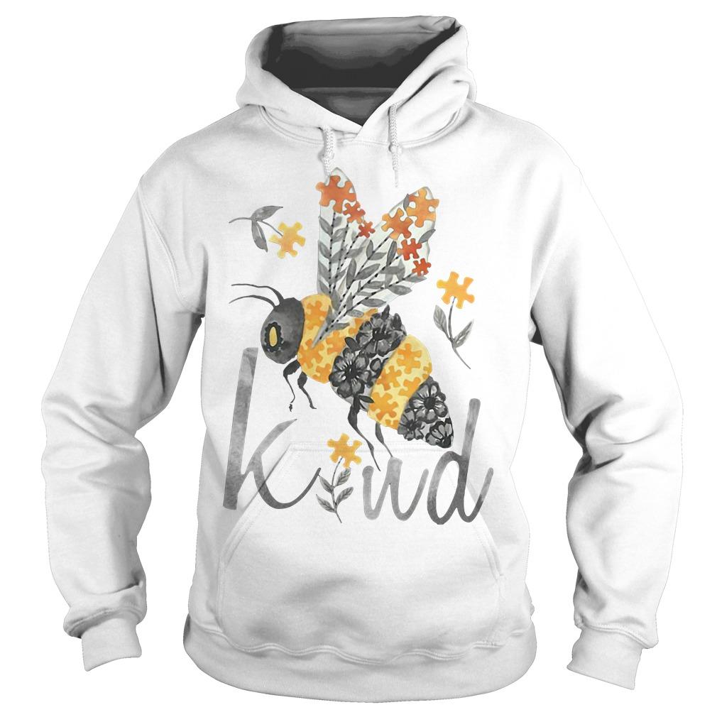 Bee Kind - Floral Bee Hoodie