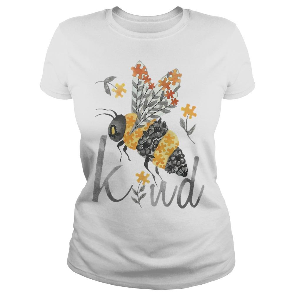 Bee Kind - Floral Bee Ladies tee