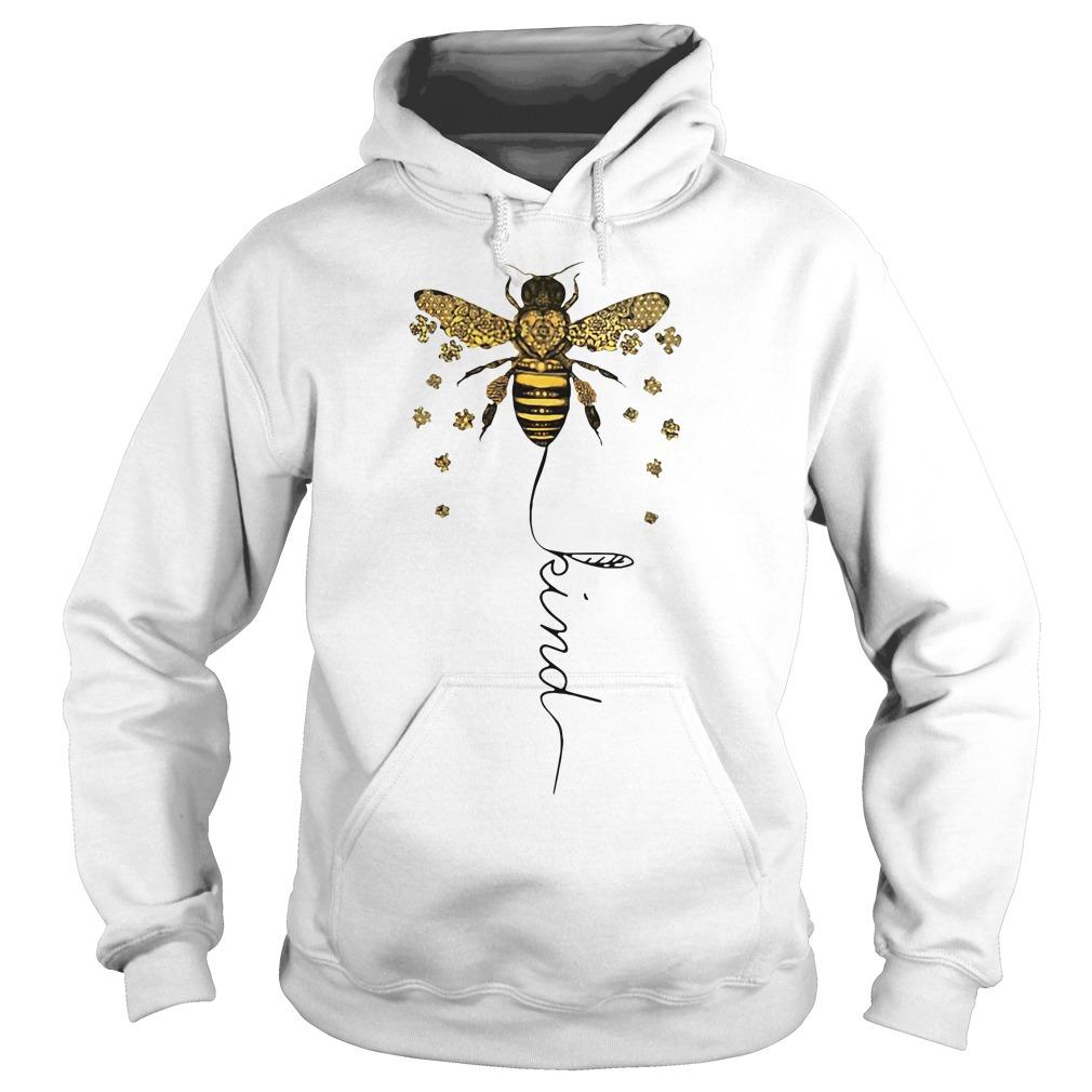 Bee kind Be kin Autism Hoodie