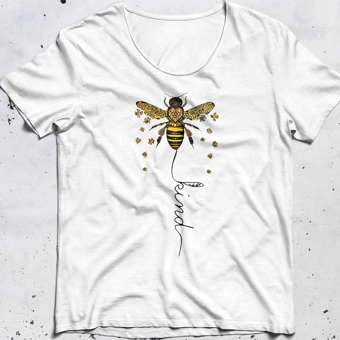 Bee kind Be kin Autism shirt