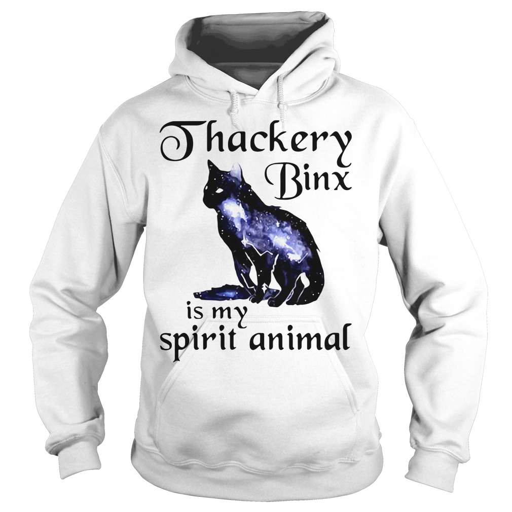 Black cat Thackery binx is my spirit animal Hoodie