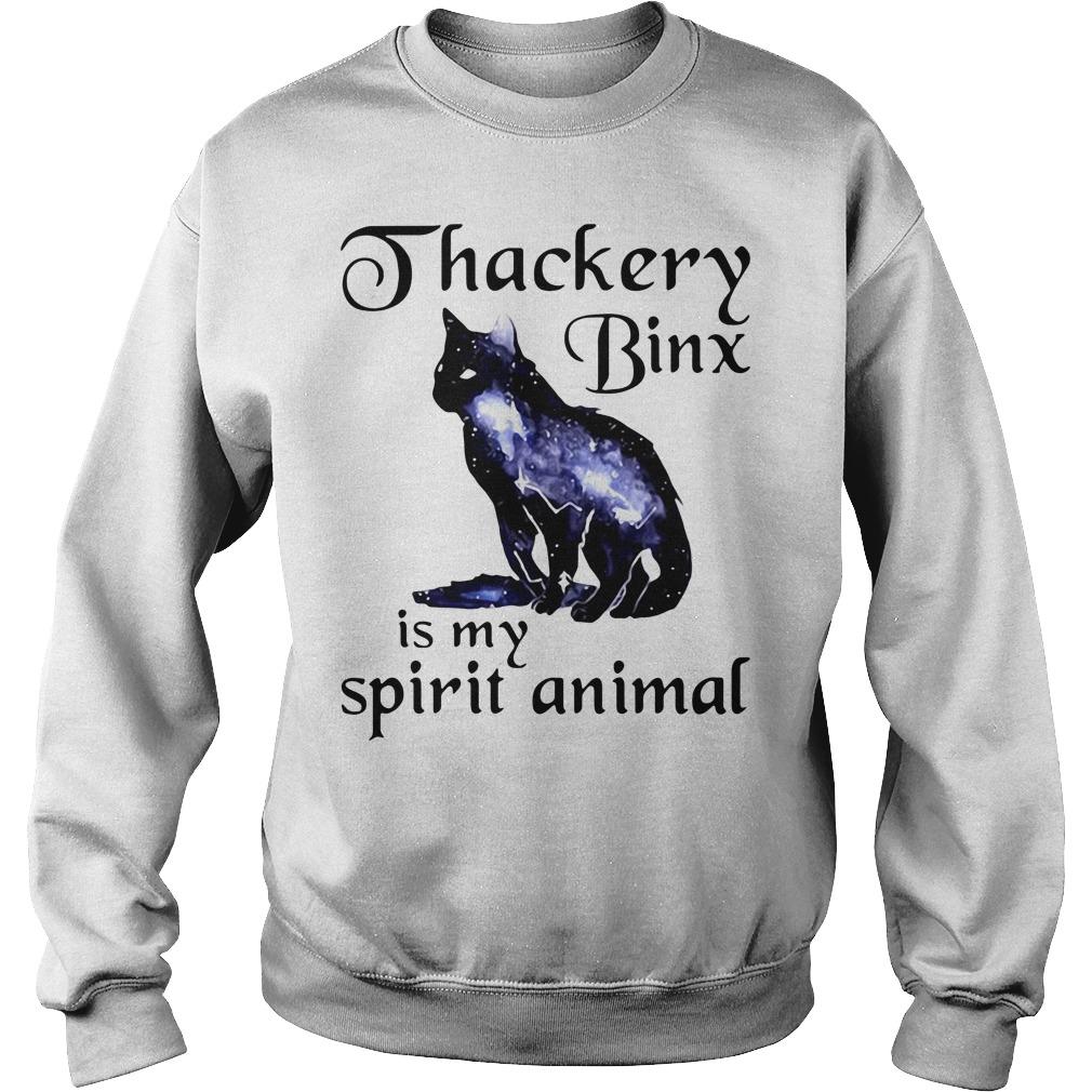 Black cat Thackery binx is my spirit animal Sweater