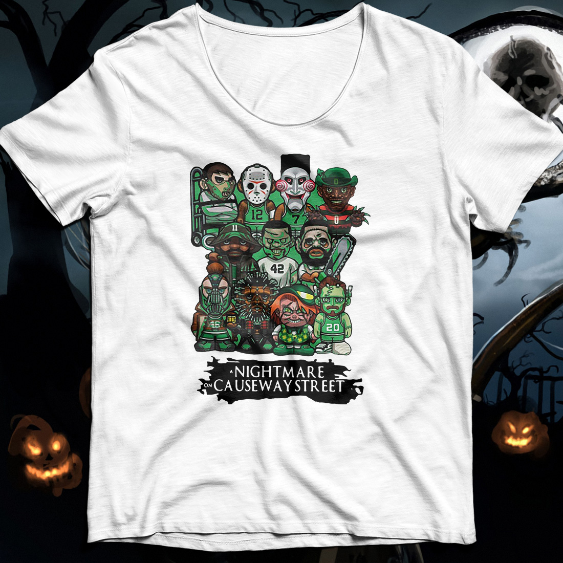 Celtics a nightmare on causeway street Shirt