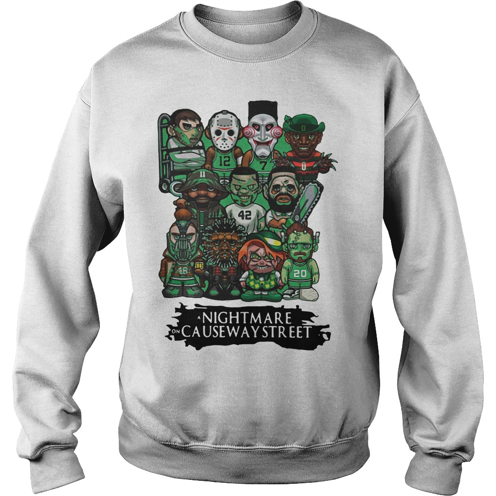 Celtics a nightmare on causeway street Sweater