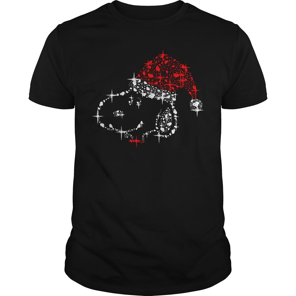 Christmas diamond Snoopy Guys shirt