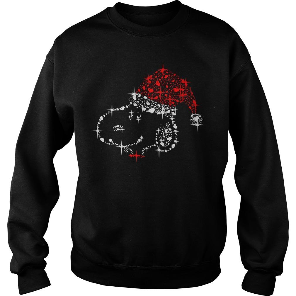 Christmas diamond Snoopy Sweater