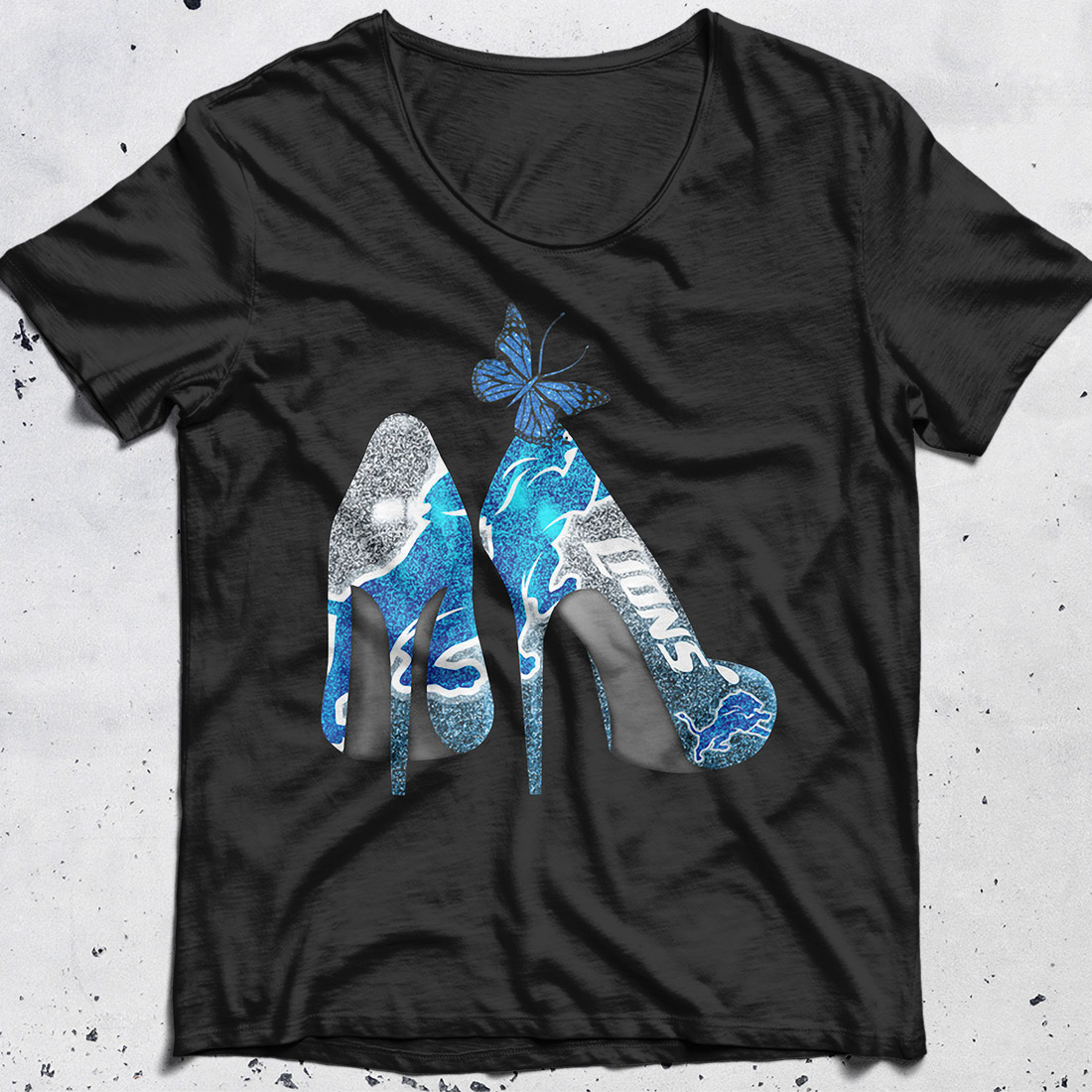 Detroit Lions High Heels shirt