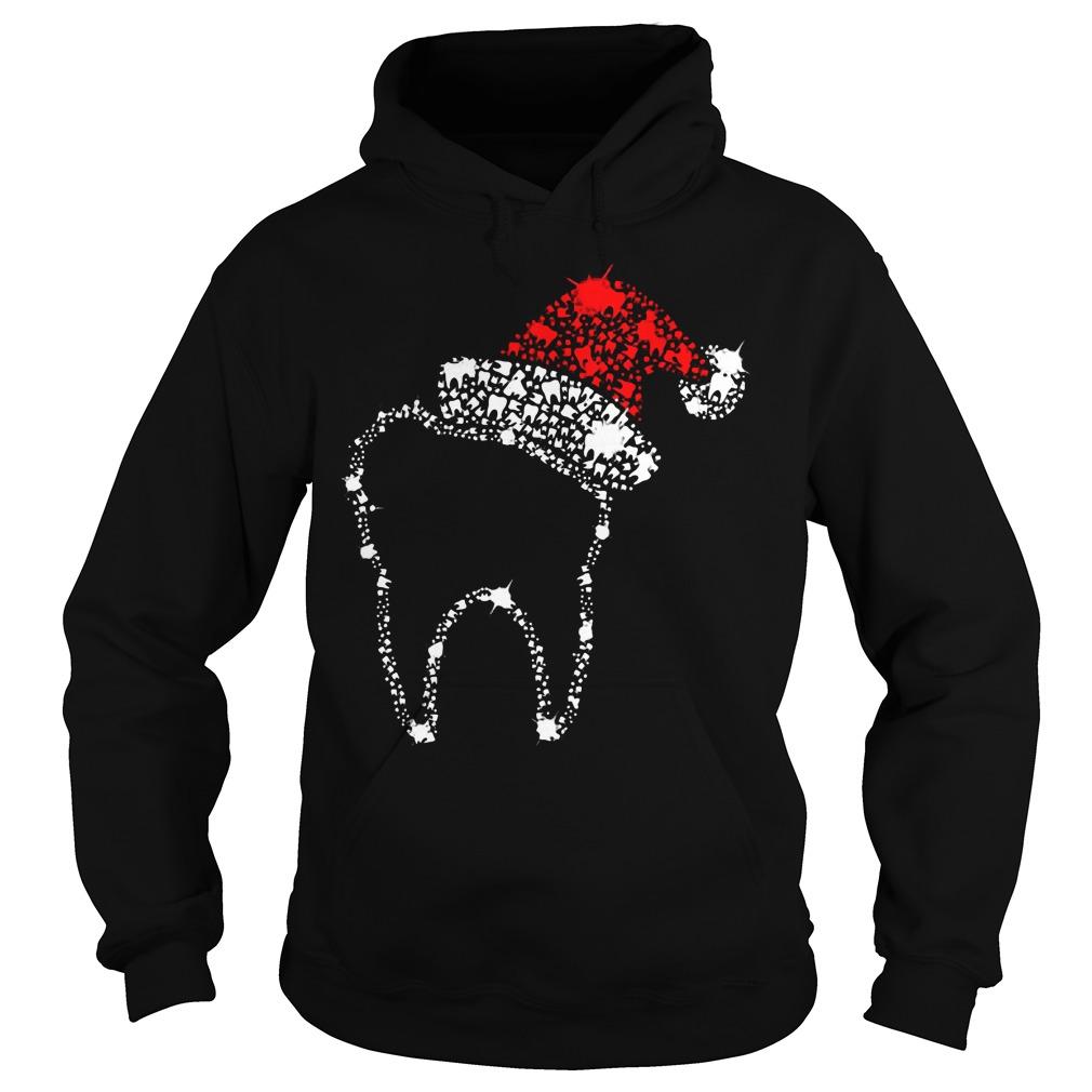 Diamond Teeth Santa Hoodie
