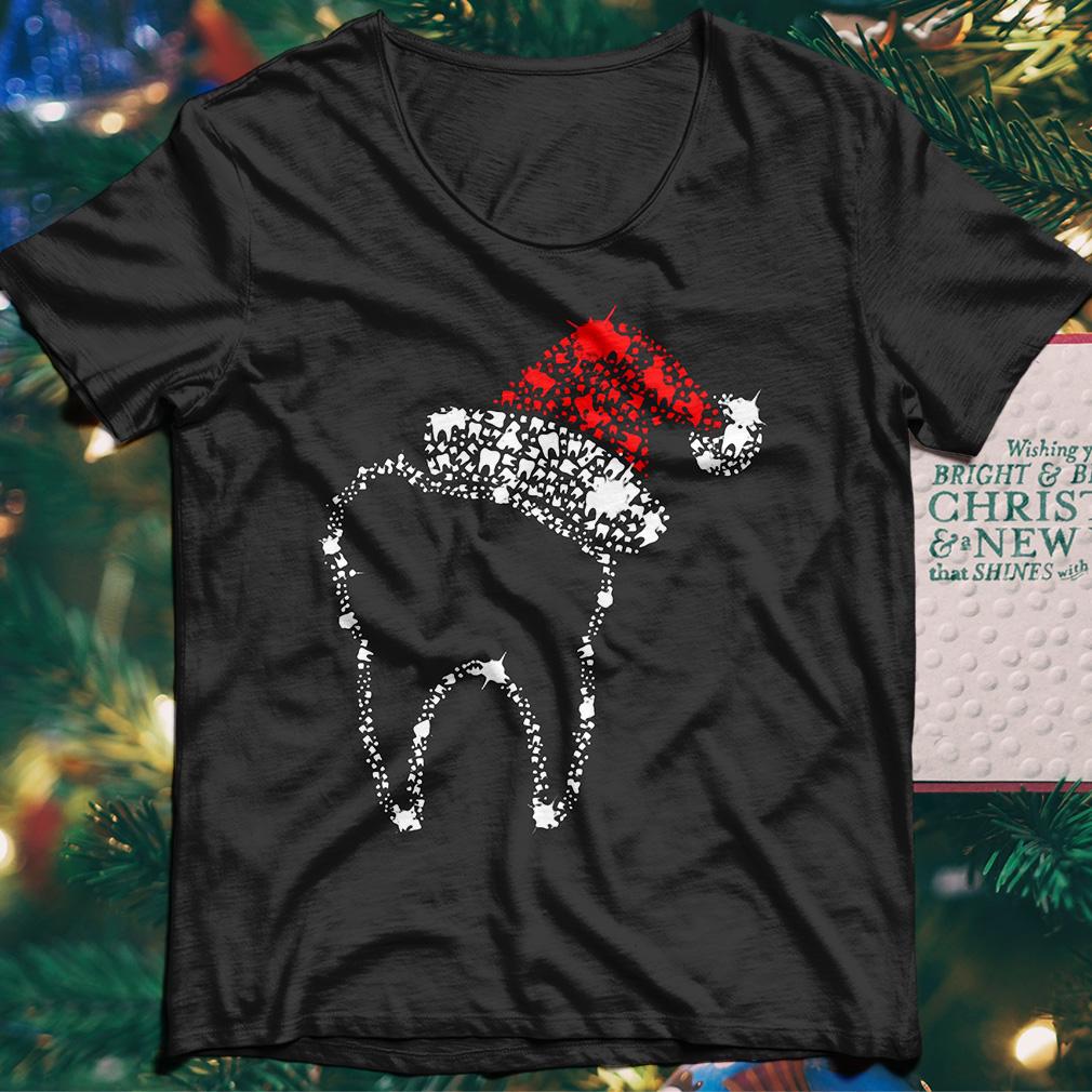 Diamond Teeth Santa shirt