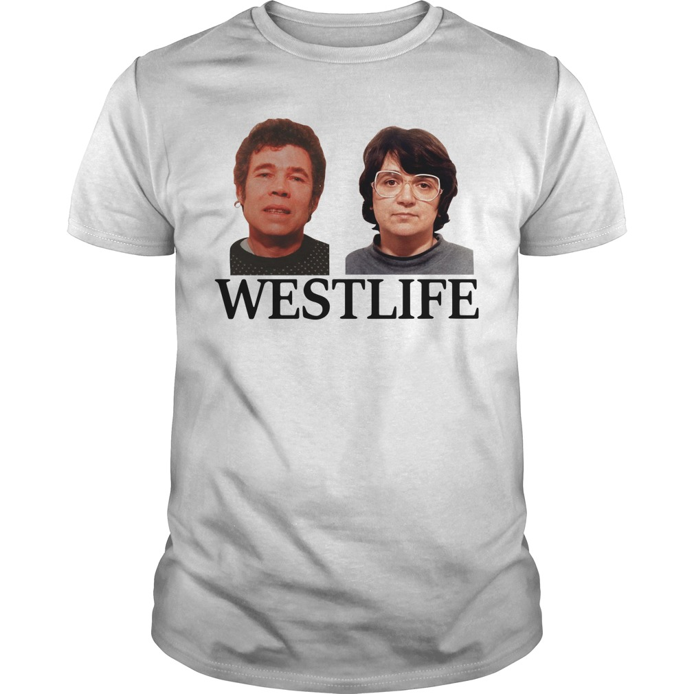 Fred and Rose West life Guys shirt