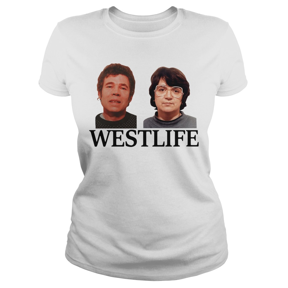 Fred and Rose West life Ladies tee