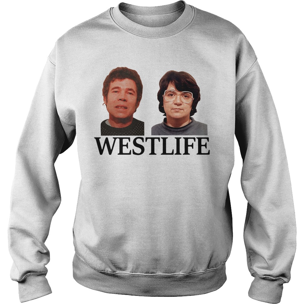 Fred and Rose West life Sweater