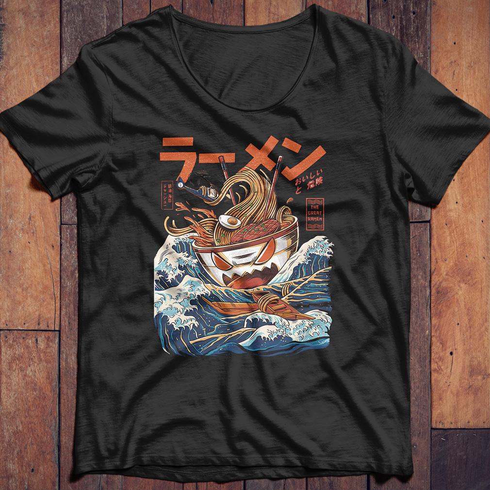 The Great Ramen off Kanagawa shirt