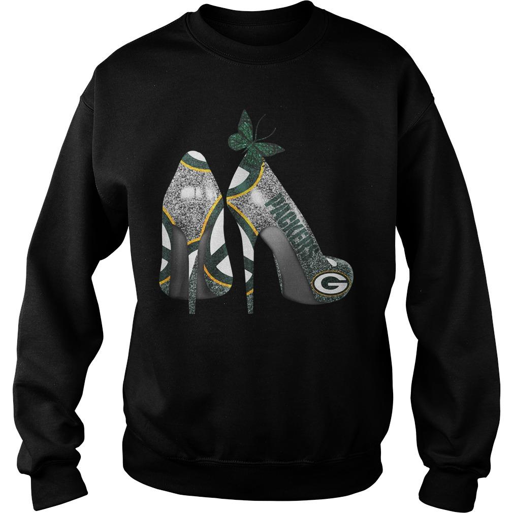 Green Bay Packers High Heels Sweater