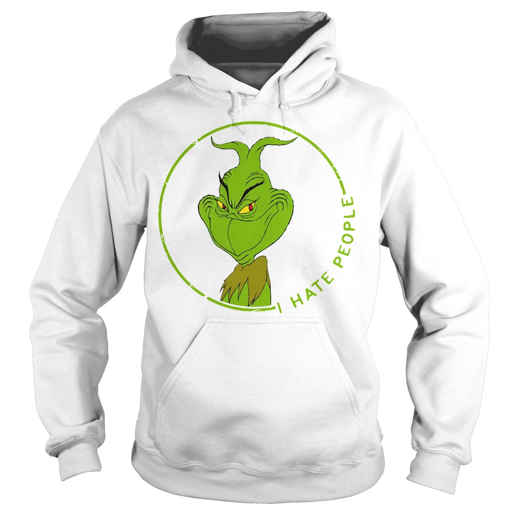 The Grinch I hate people Hoodie