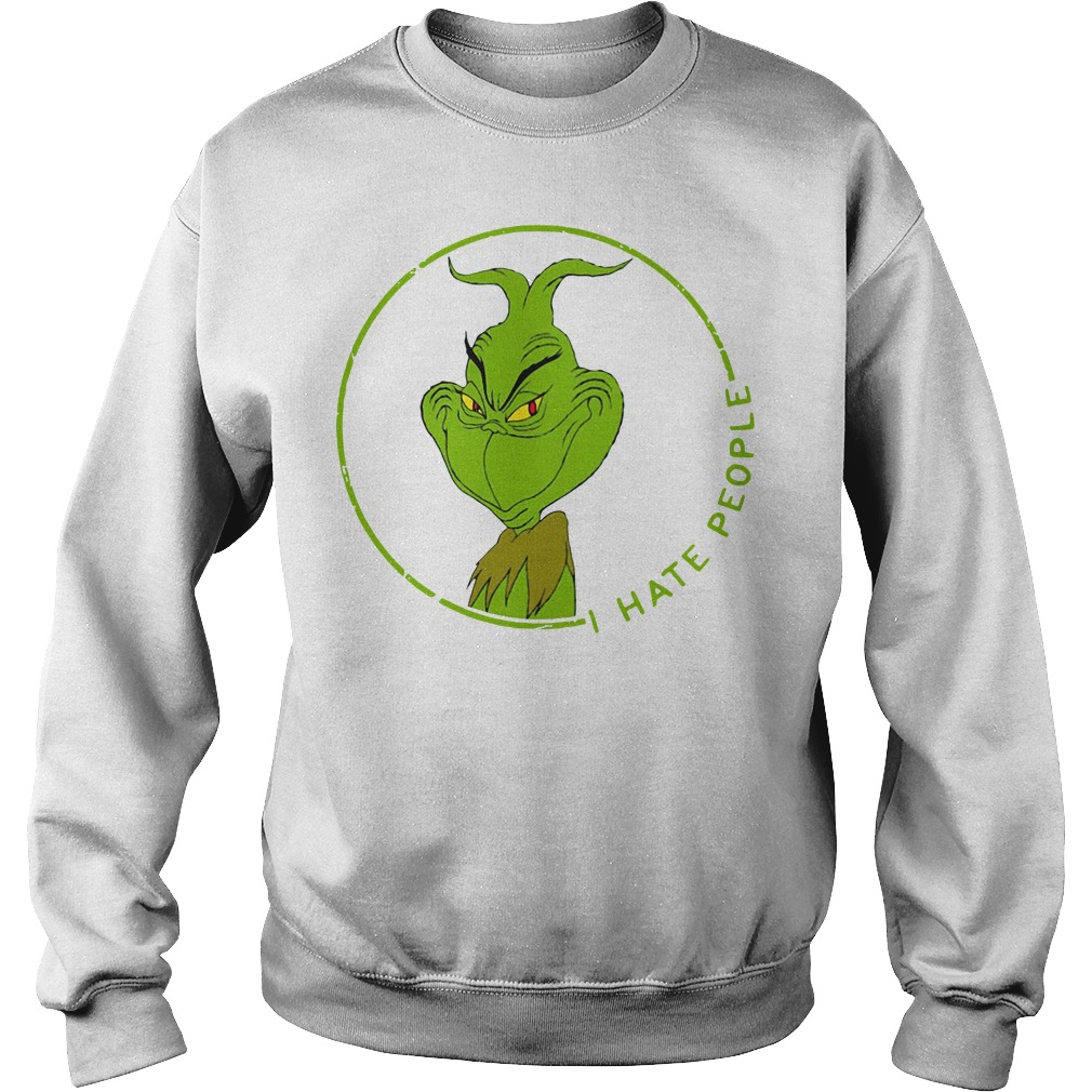The Grinch I hate people Sweater