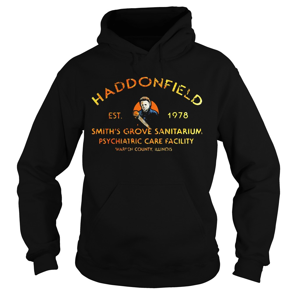 Haddonfield est 1978 smith's grove sanitarium psychiatric care facility Hoodie