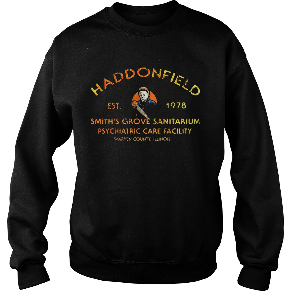 Haddonfield est 1978 smith's grove sanitarium psychiatric care facility Sweater