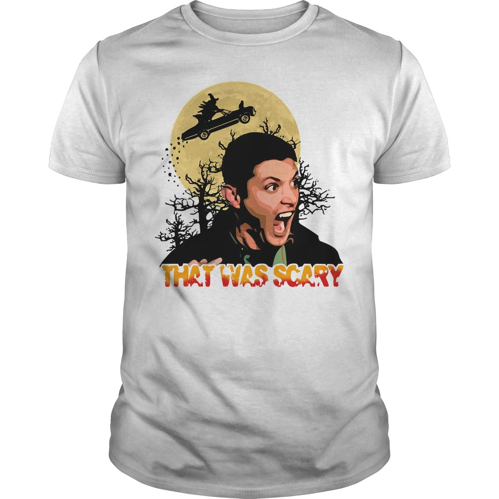 Halloween Dean Winchester that was scary Guys shirt